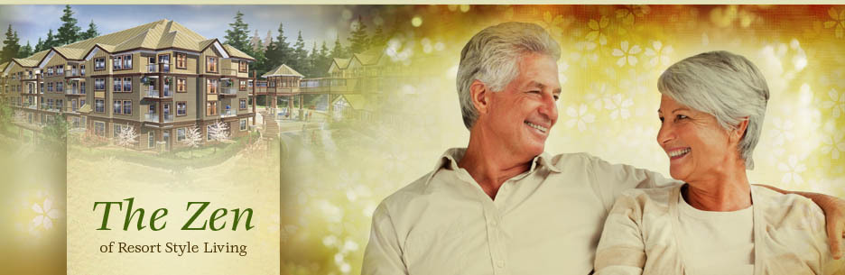 Learn more about zen-style retirement living in Surrey, BC