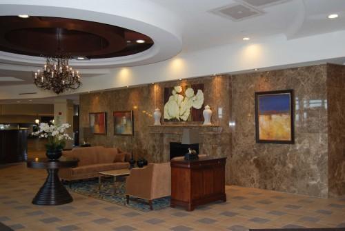 Elegant Lobby with 24/7 Reception