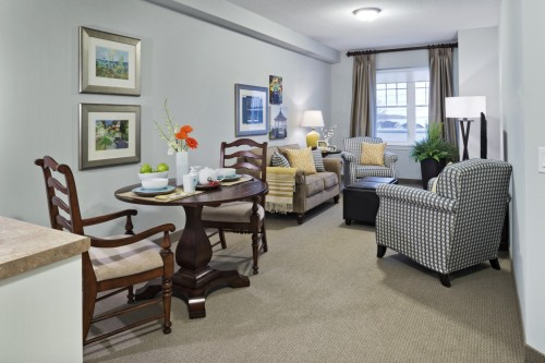 Typical Suite Living Area